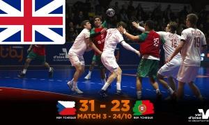 ENG - REPUBLIC CZECH - PORTUGAL M3 GAME REPORT