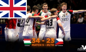 ENG - Hungary - Czech Republic M5 GAME REPORT