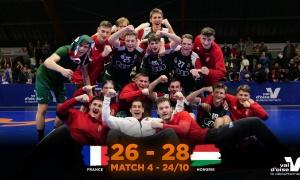 France - Hongrie I M4 RÉSUMÉ