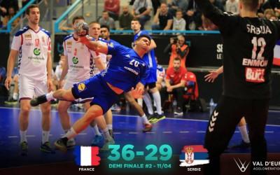 Highlights France - Serbie | 1/2 Final TIBY Handball U21M - 2019