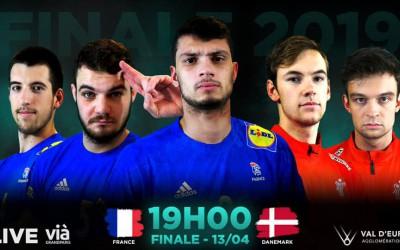 FRANCE-DENMARK I TIBY Handball U21M I FINAL - 11/04/19 I 19h