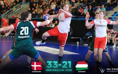 Highlights Denmark - Hungary | 1/2 Final TIBY Handball U21M 2019