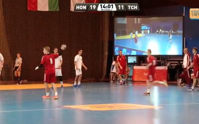 HONGRIE-RÉP TCHÈQUE / Match Podium TIBY 2015