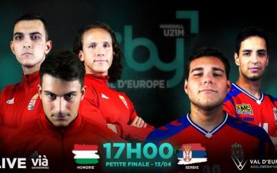 HUNGARY-SERBIA I TIBY Handball U21M I 3rd Place - 13/04/19 I 17h