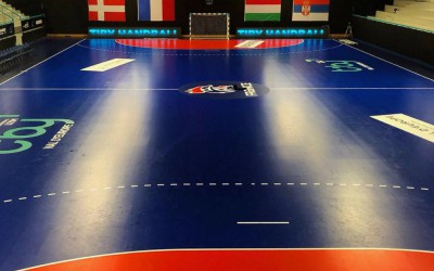 Installations TIBY Handball Val d'Europe U21M